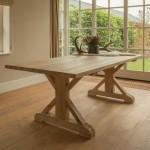 Eikenhouten tafels zijn milieuvriendelijk