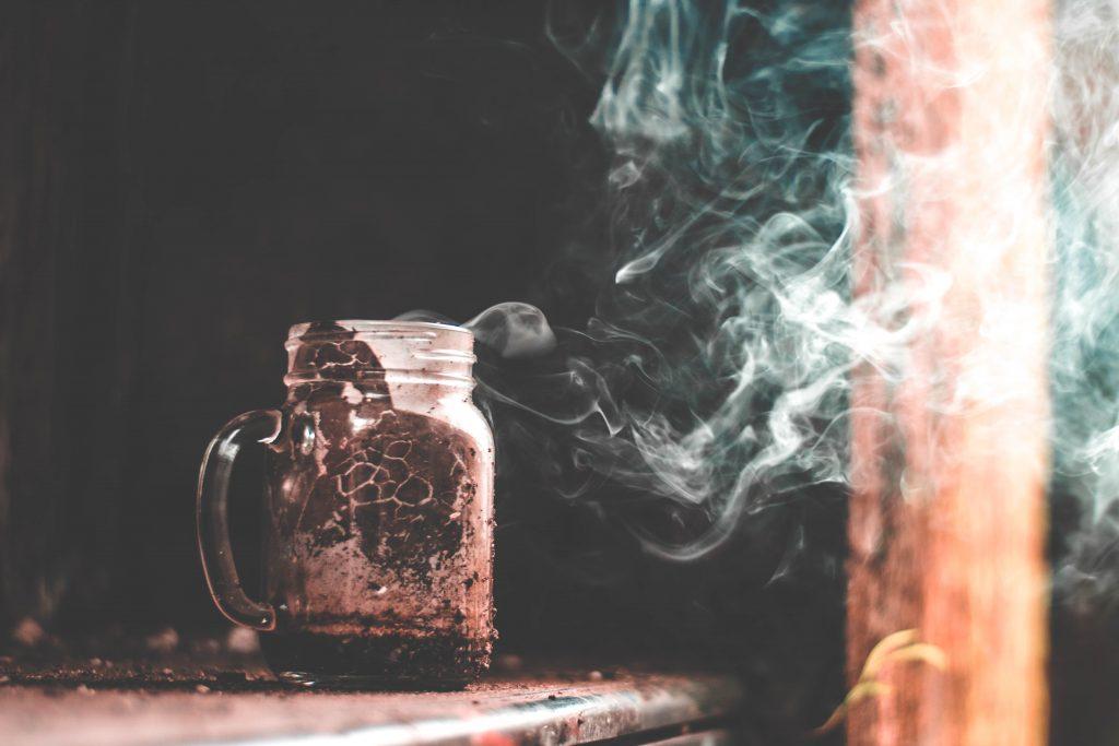 Mason jars kaars